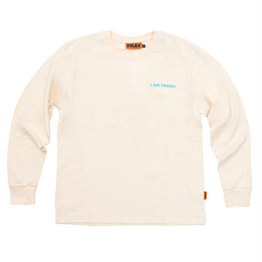 I AM FRESH LONG SLEEVE IVORY