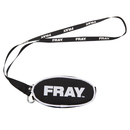 FRAY COIN POUCH BLACK