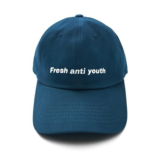 Fray logo ball cap- blue