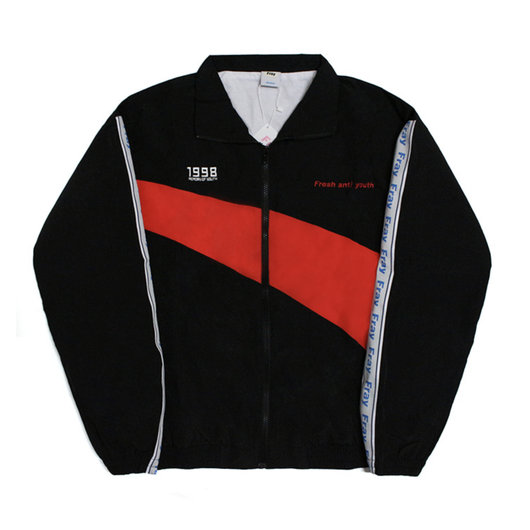 Wave Track-Jacket – Black