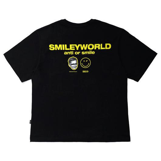 SMILEY WORLD T-SHIRTS-BLACK