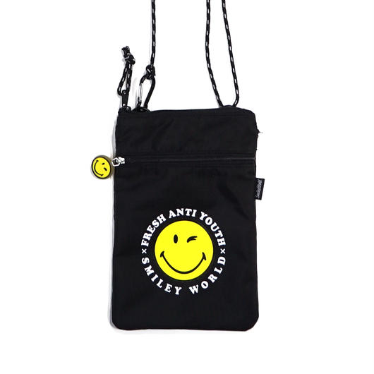 POUCH SHOLDER BAG-BLACK