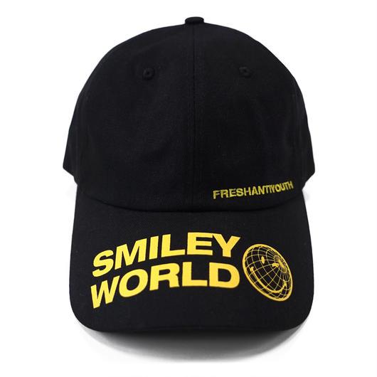 SMILEY WORLD BASEBALL CAP-BLACK