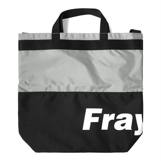 Fray logo 2way bag-BLACK