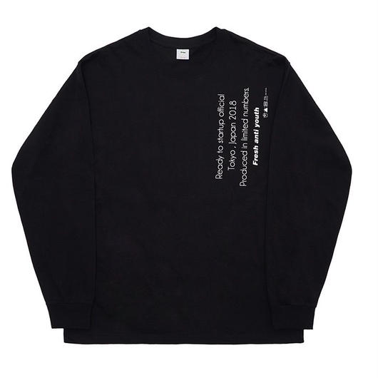 Reception Long sleeve-black