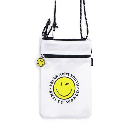 POUCH SHOLDER BAG-WHITE