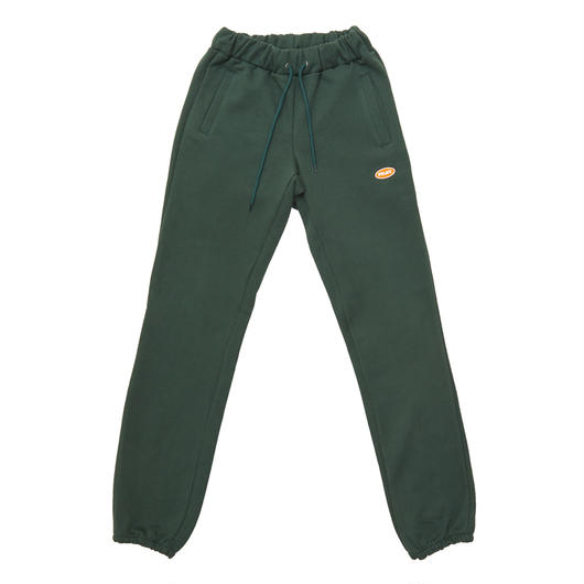 LOGO BASIC SWEAT PANTS GREEN