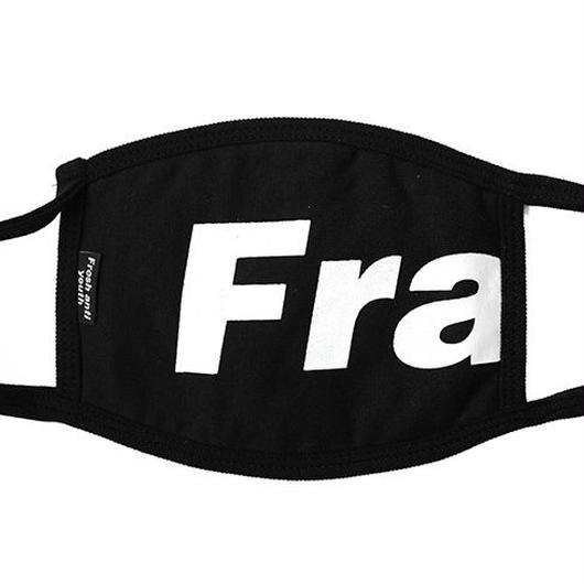Fray logo mask-black