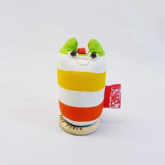 【大きい】イリオモテヤマネコ / 頭バッグチャーム【2017H】