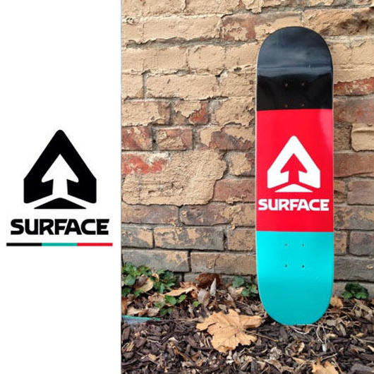 SURFACE SKATE DECK