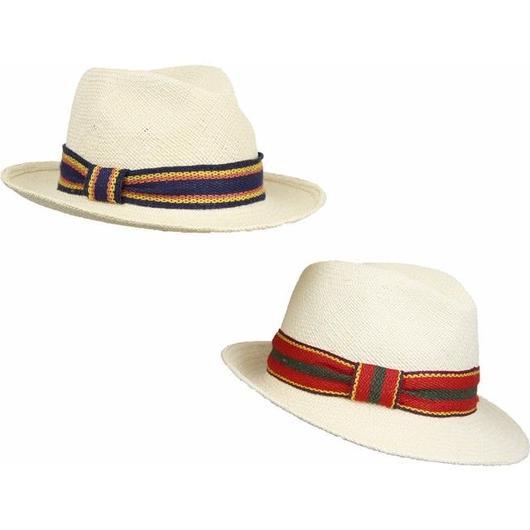 [MARZI] ma16508 マルツィ イタリア製 中折れHAT 帽子 おしゃれ ストローハット 麦わら帽子 春夏新作 リゾート帽子 レディース メンズ