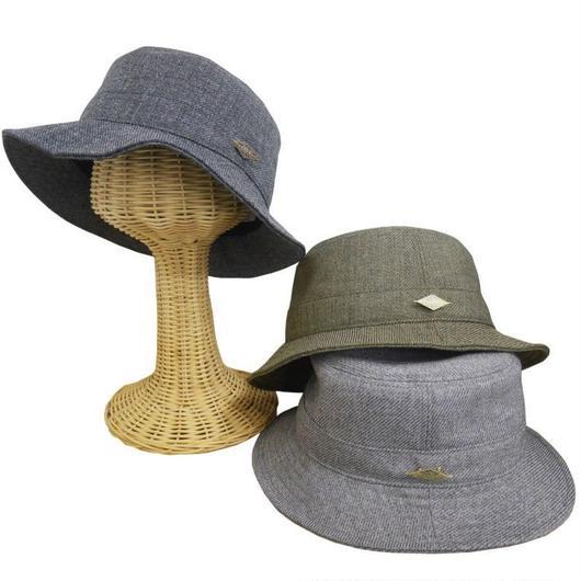 【Hatth:Life / ハスライフ】フレッピーオリジナルブランド HLAWQE ウール調ハット 日本製