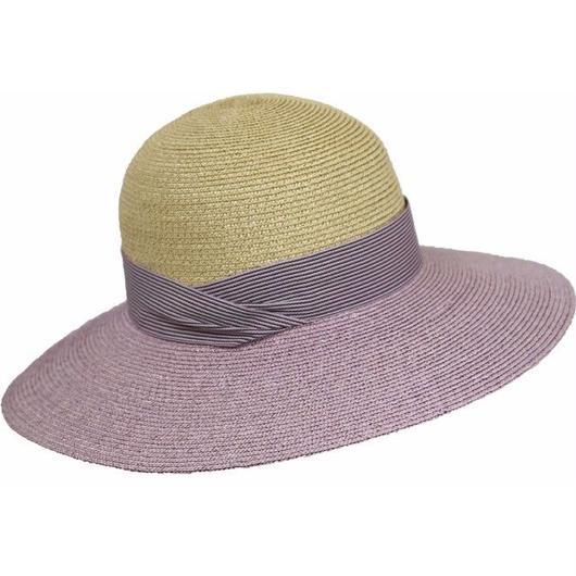 [MARZI] ma16546 マルツィ イタリア製 ブレードHAT ツバ広帽子 女優帽子 おしゃれ ストローハット 麦わら帽子 春夏新作 リゾート帽子 レディース
