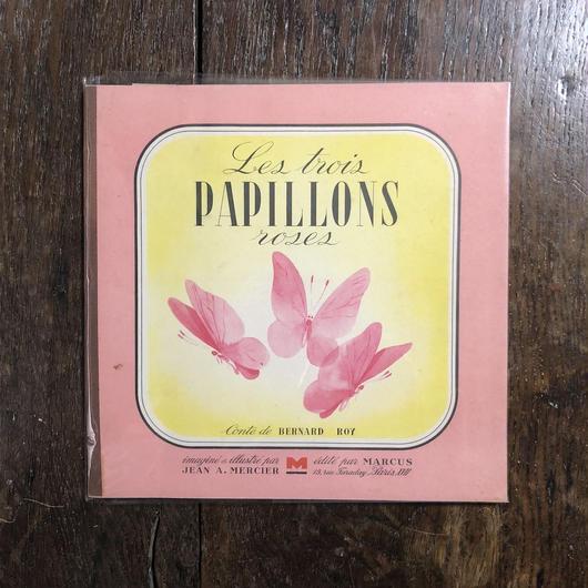 「Les Trois Papillons Roses(1942年刷)」Bernard Roy Jean A. Mercier
