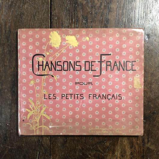 「CHANSONS DE FRANCE POUR LES PETIT FRANCAIS(1890年頃リトグラフ刷)」M. Boutet de Monvel(ブーテ・ド・モンヴェル)
