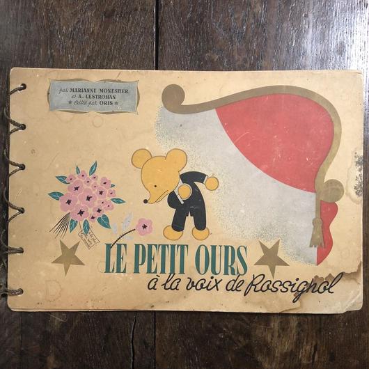 「Le Petit Ours a la voix de rossignol」Marianne Monestier A.Lestrohan