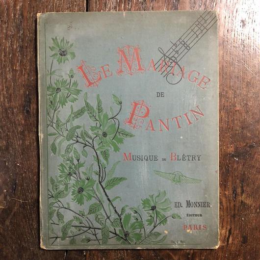 「LE MARIAGE DE PANTIN」Paul Bletry T.Busnel