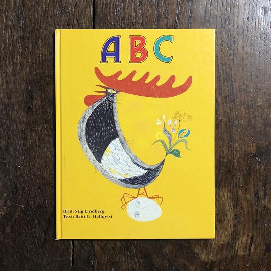 「ABC」Britte G. Hallqvist Stig Lindberg(スティグ・リンドベリ)