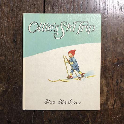 「Ollie's Ski Trip」Elsa Beskow(エルサ・ベスコフ)