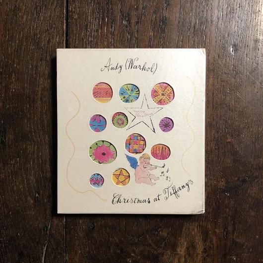 「Greetings from Andy Christmas at Tiffany's」Andy Warhol(アンディ・ウォーホル)