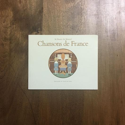 「Chansons de Fance」M.Boutet de Monvel(ブーテ・ド・モンヴェル)