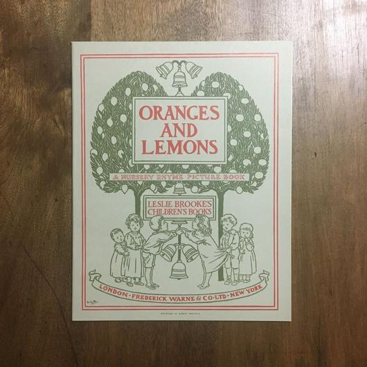 「ORANGES AND LEMONS(オレンジとレモン オーピー・コレクション 2)」Leslie Brooke(レスリー・ブルック)