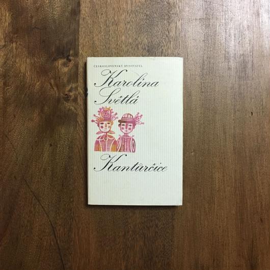 「Kanturcice」Karolina Svetla Jan Kudlacek(ヤン・クドゥラーチェク)表紙、見返しデザイン
