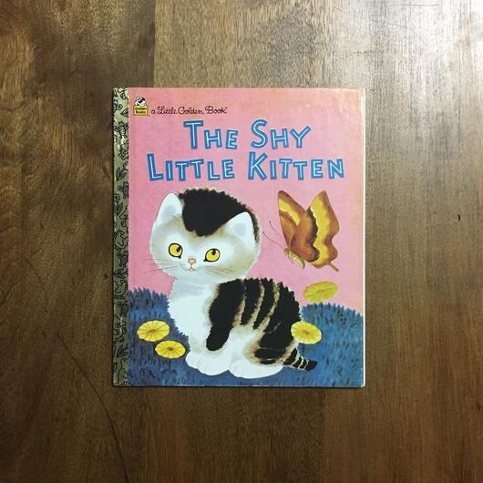 「THE SHY LITTLE KITTEN」Gustaf Tenggren Cathleen Schurr