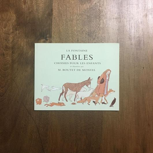 「LA FONTAINE FABLES」M. Boutet de Monvel(ブーテ・ド・モンヴェル)