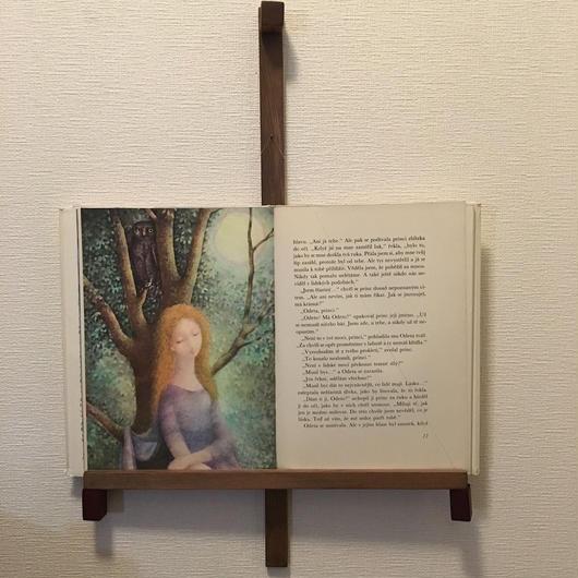 「BOOK FRAME SIZE L(壁掛けタイプ ツガ/塗装仕上)」