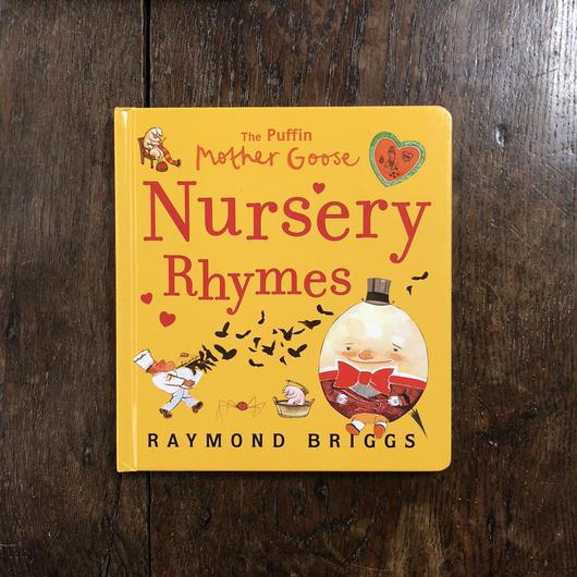 「Nursery Rhymes」Raymond Briggs(レイモン・ブリッグズ)