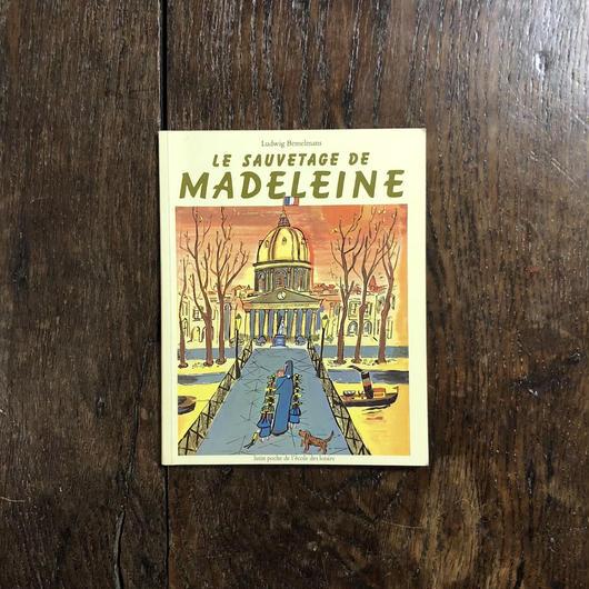 「LE SAUVETAGE DE MADELEINE」Ludwig Bemelmans(ルドウィッヒ・ベーメルマンス)