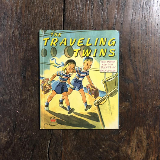 「THE TRAVELING TWINS」Jean Horton Berg Janet Smalley