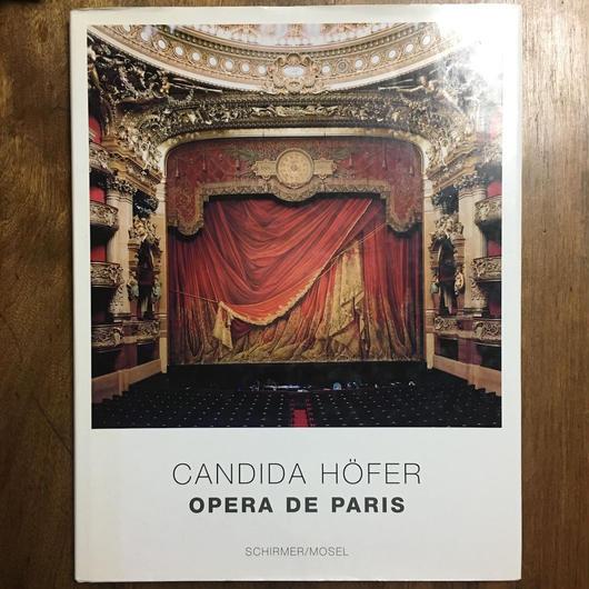 「OPERA DE PARIS」CANDIDA HOFER