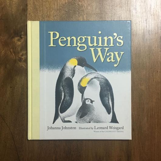 「Penguin's Way」Johanna Johnston Leonard Weisgard(レナード・ワイスガード)