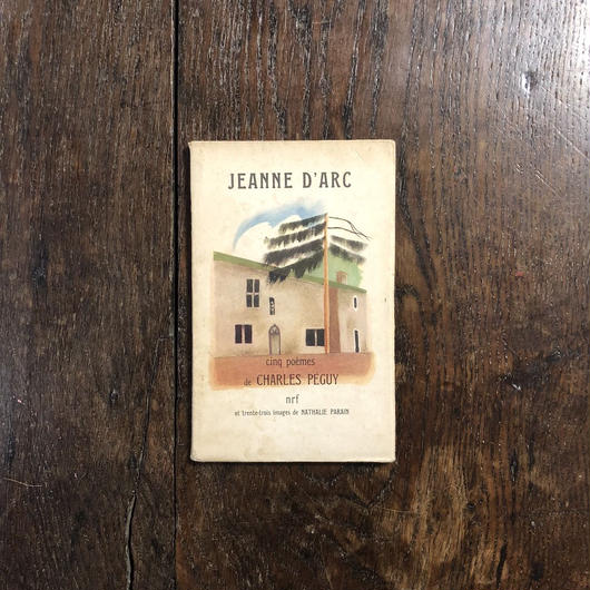 「JEANNE D'ARC(1952年初版)」Charles Peguy Nathalie Prain(ナタリー・パラン)