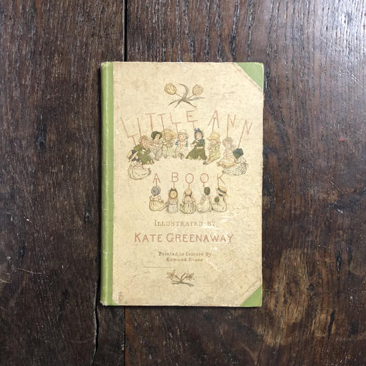 「LITTLE ANN AND OTHER POEMS」Kate Greenaway(ケイト・グリーナウェイ)