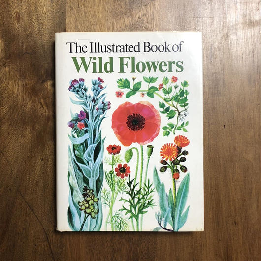 「The Illustrated Book of Wild Flowers」B.E.Nicholson
