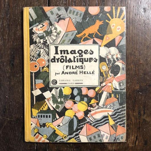 「Images drôlatiques『FILM』(リトグラフ刷)」André Hellé