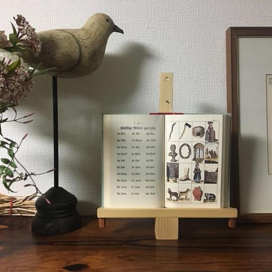 「BOOK FRAME SIZE S(自立タイプ ヒノキ/オイル仕上げ)」