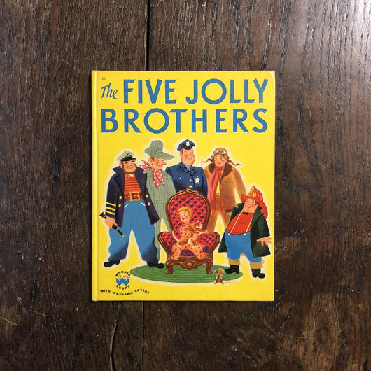 「THE FIVE JOLLY BROTHERS」Tish Chaffee Tom Sinnickson