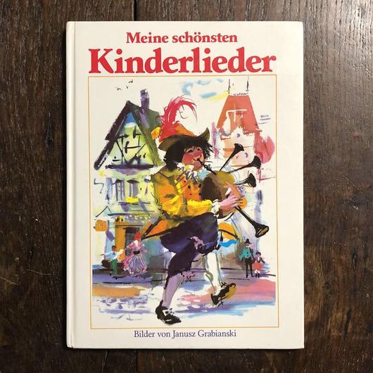 「Meine schonsten Kinderlieder」Janusz Grabianski(ヤーヌシ・グラビアンスキー)
