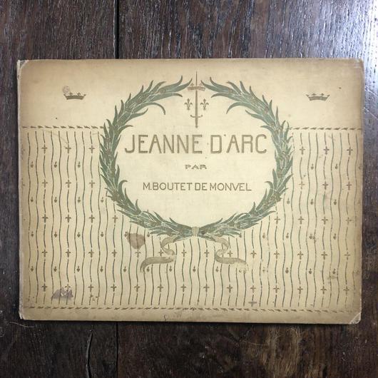 「JEANNE D'ARC(1900年頃)」M.Boutet de Monvel(ブーテ・ド・モンヴェル)