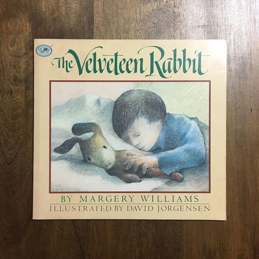 「The Velveteen Rabbit(ビロードうさぎ)」MARGERY WILLIAMS DAVID JORGENSEN