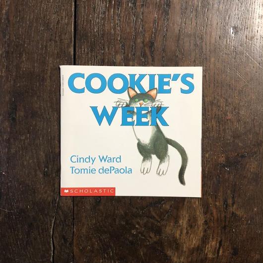 「COOKIE'S WEEK」Tomie dePaola(トミー・デパオラ)