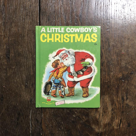 「A LITTEL COWBOY'S CHRISTMAS」Elenor Dart