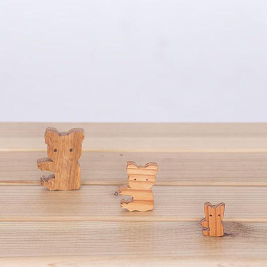 【シルエット】森の小さな生き物たち②