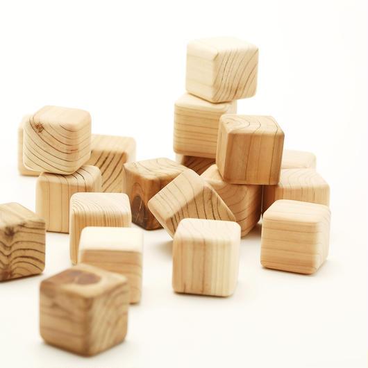 【積木】はじめての積み木(木箱入30個)