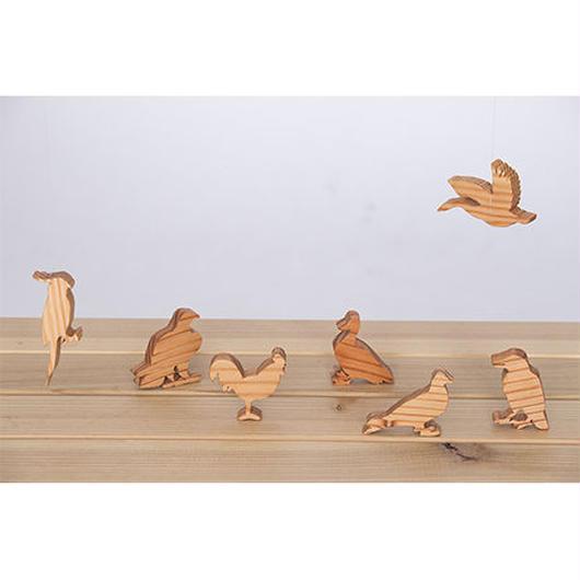 【シルエット】羽を持つ生き物たち