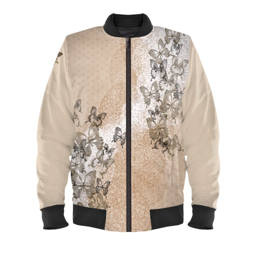 Butterfly Ladies Bomber Jacket